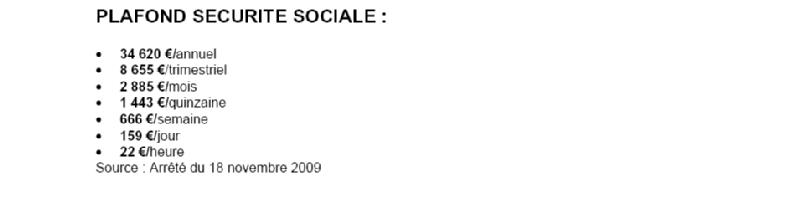 Les chiffres utiles par cgtm cmu rmi atvs heures - Plafond horaire de la securite sociale ...